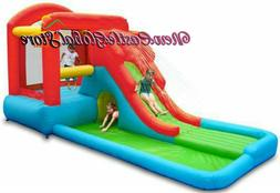 inflatable water slide big pool bounce house