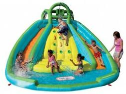 inflatable water slide bounce castle kid pool