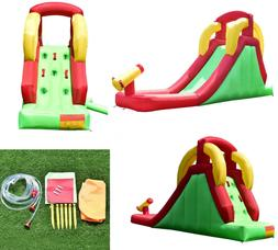 inflatable water slide bounce house jumper climbing