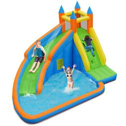 Inflatable Water Slide Bounce Mighty House Jumper Castle Moo