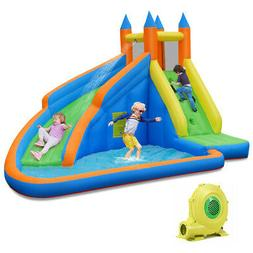 Inflatable Water Slide Mighty Bounce House Jumper Castle Moo