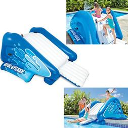 """NEW Inflatable Water Slide Play Center with Sprayer, 131"""" x"""