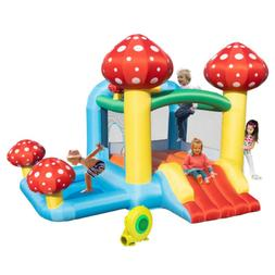 Inflatable Water Slide Pool Bounce House Backyard Jumper Cas