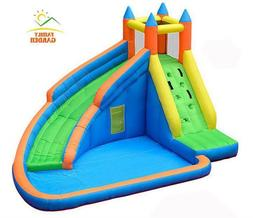 Inflatable Water Slide Pool Jumping Bouncer Castle With Air