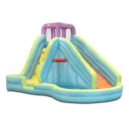 Inflatable Water Slide - Little Tikes Slam 'n Curve with Blo