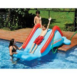 Swimline Inflatable Water Slide Superslide Heavy Gauge Vinyl
