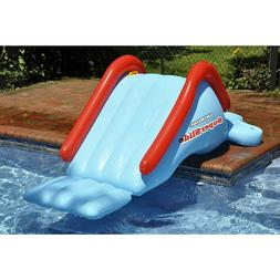 Inflatable Water Slide Swimming Pool For Kids Children Toy P