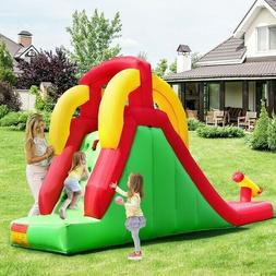 Inflatable Water Slide with Water Gun Outdoor Summer Fun Bou