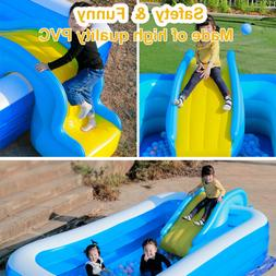 Inflatable Water Slides For Kids Backyard Summer Water Party