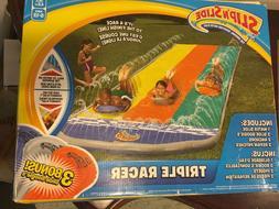 Inflatable Water slides Slip 'N slide Triple racer Original