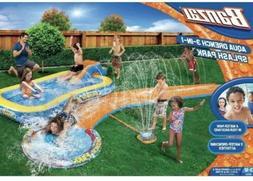 Inflatable Water Slides Splash Park 3-in-1 Backyard Inflatab