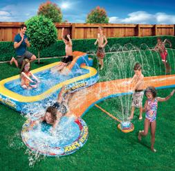 Inflatable Water Slides Splash Park 3-in-1 Backyard Inflatab