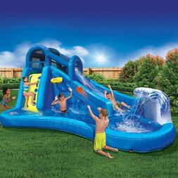 Best Outdoor Inflatable Waterslide for Kids | Banzai Surf 'N