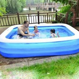 Intex 10ft x 2in Swim Center Family Backyard Inflatable Kidd