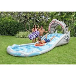"Intex Surf 'N Slide Inflatable Play Center, 181"" X 66"" X 6"