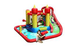 jump splash funland inflatable bouncy