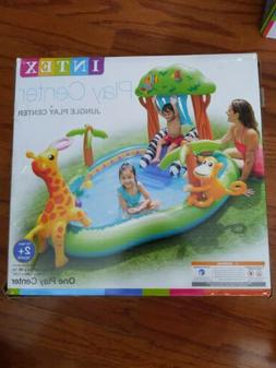 jungle adventure play center inflatable