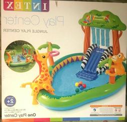 Intex Jungle Play Center Inflatable Toddler Kids Ball Pit Sl