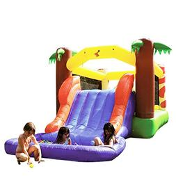 Amazing Jungle Water Fall Bounce House