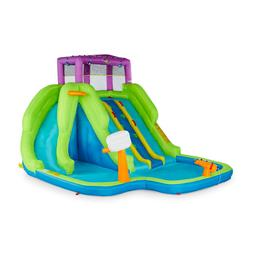 MAGIC UNION Kahuna Triple Blast Inflatable Splash Pool Backy