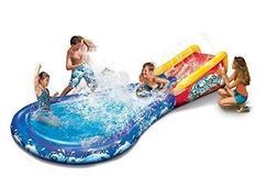 Kid's Backyard Play Banzai Wave Crasher Surf Water Park Slid