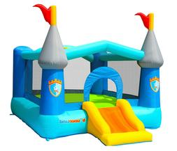 Bounceland Kiddie Castle Bounce House with hoop