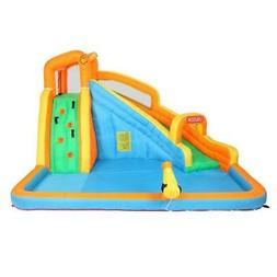 Kids Inflatable Bounce House Water Slide Pool Climbing Wall