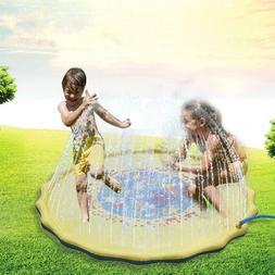 kids outdoor water slide spray sprinker pool