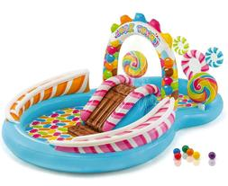 Intex Kids Play Zone Inflatable Candy Swimming Pool Water Sl