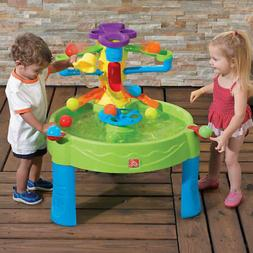Kids Round Busy Ball Play Sand and Water Table Outdoor Yard