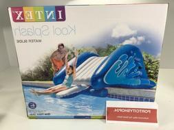 Intex Kool Splash Inflatable Swimming Pool Water Slide Acces