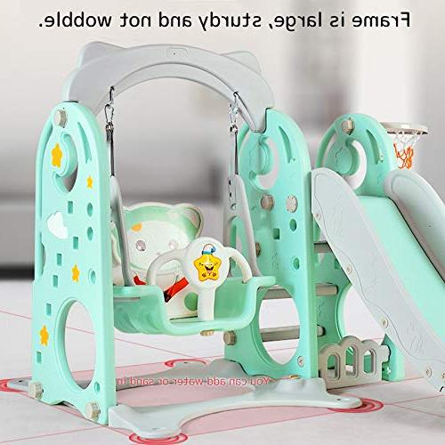 TINTON LIFE 3 in 1 Climber Set Swing Slide