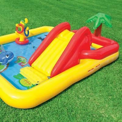 """Intex 100"""" x Inflatable Center Kids Kiddie &"""