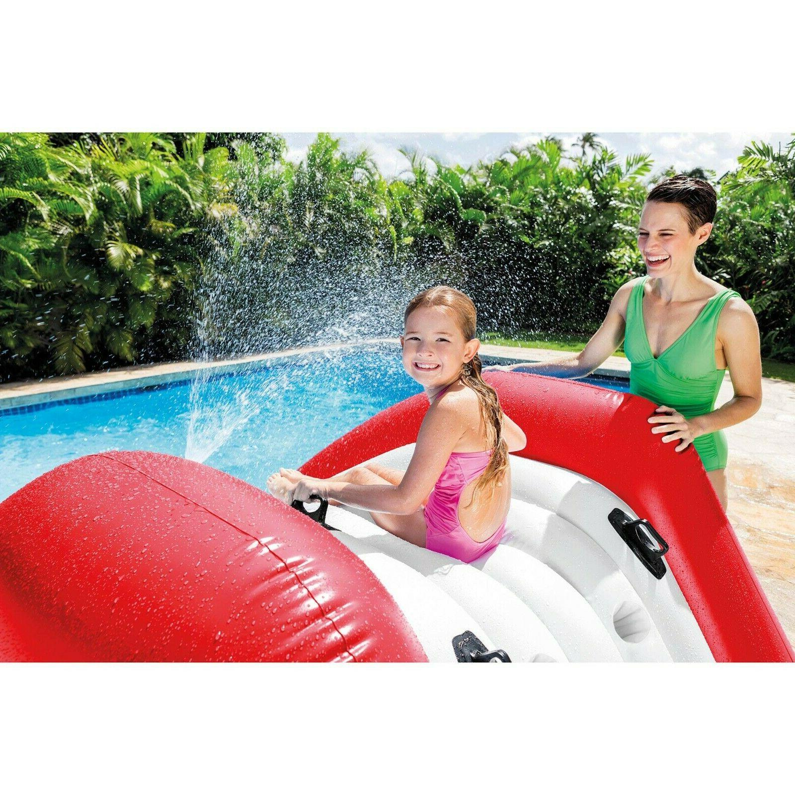 Intex x Kool Inflatable Pool Water w/ Sprayer
