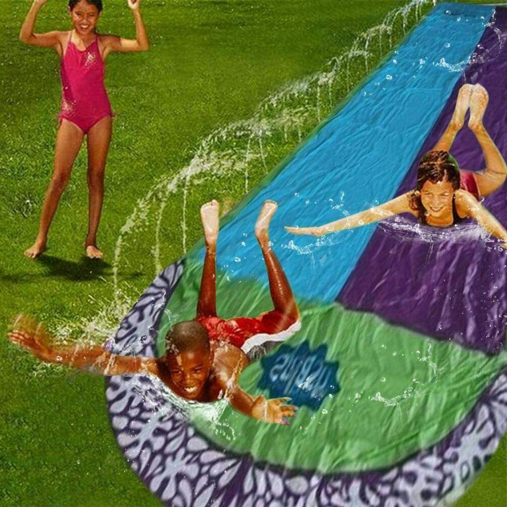 15Ft slide inflatable, Lawn Water slide Slides Surf