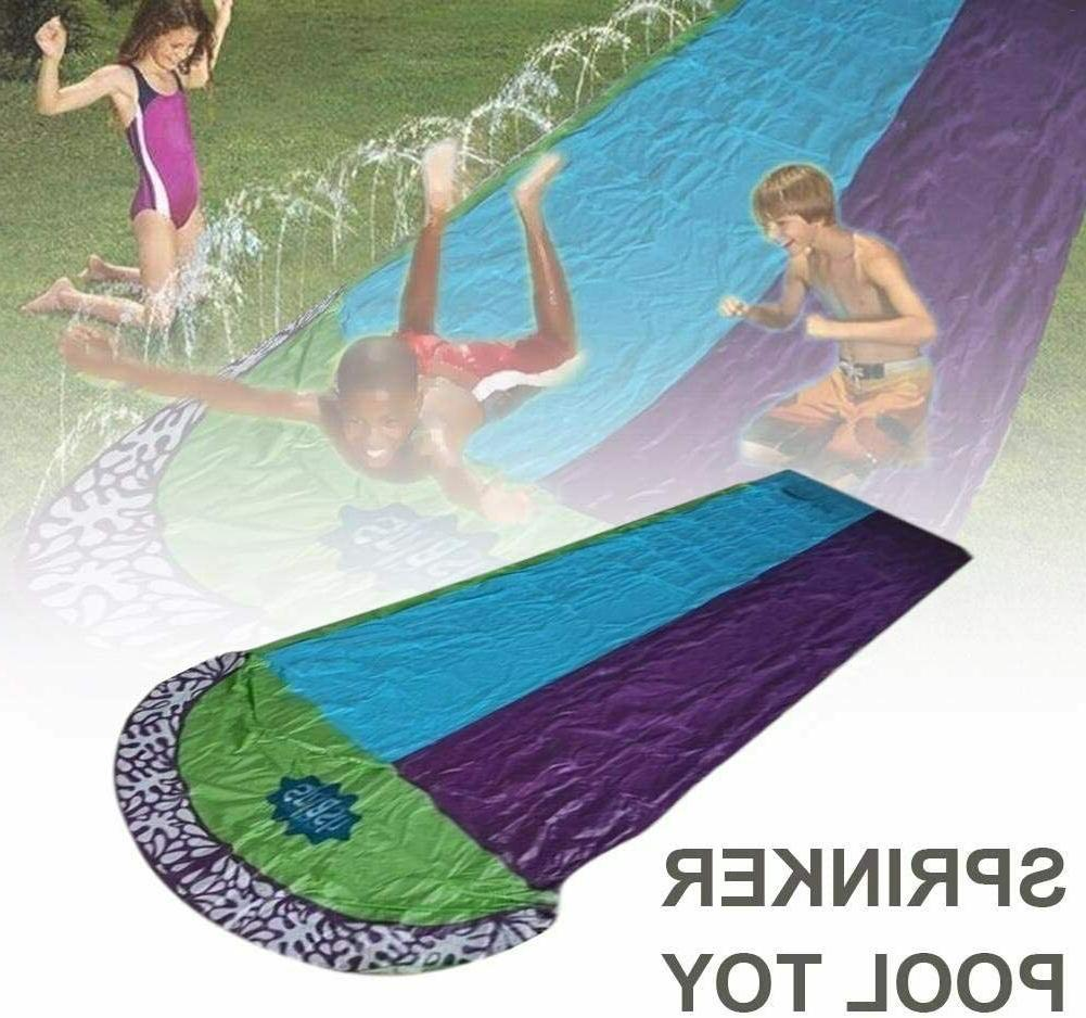 15Ft inflatable, Double Lawn Water slide N