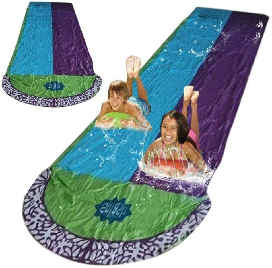 15ft lawn water slide inflatable double lawn