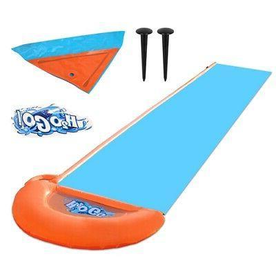 18ft Kids Water Slide door Slip Play