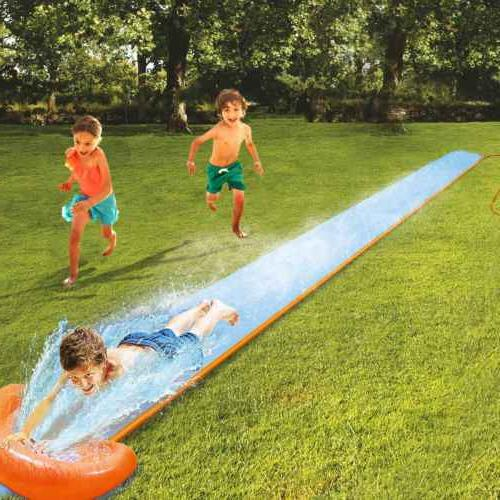 18ft Inflatable Slide Water Splash Toys