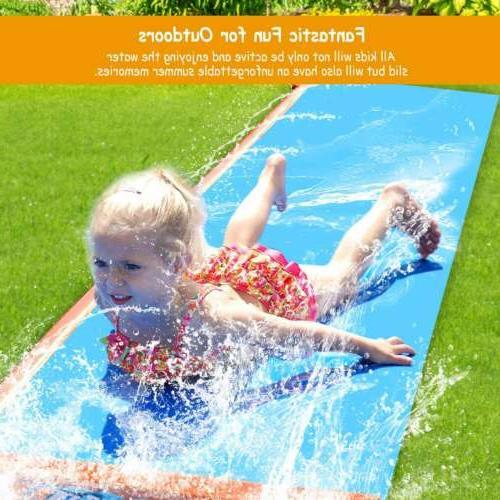 18ft Water Slide Water Splash Slip Play Toys