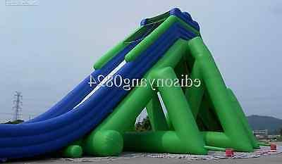 195'x48'x55 Inflatable Water Slide Trampoline Commercial