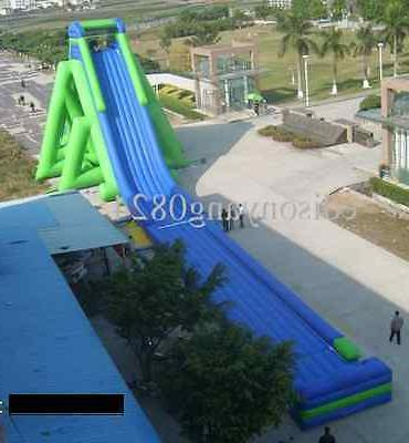195'x48'x55 Inflatable Bounce Water Slide We Trampoline