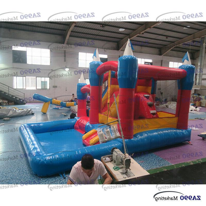 20x13x10ft Bouncy Water & Pool Combo Kids