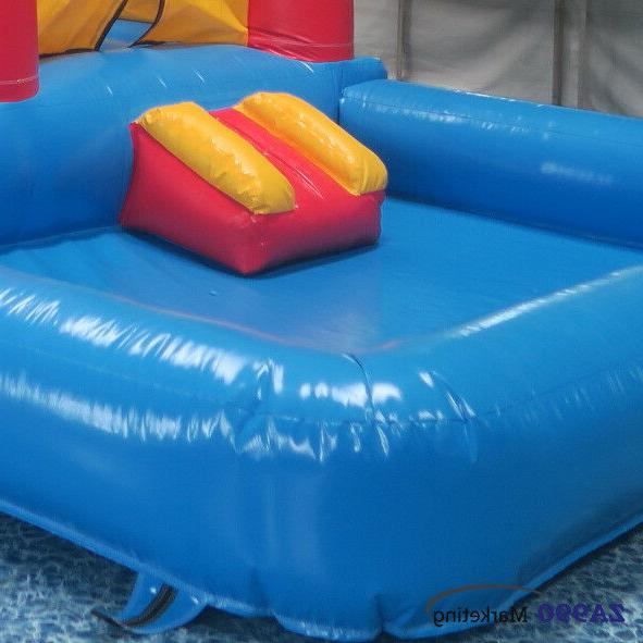 20x13x10ft Outdoor Castle Bouncy House & Pool Kids