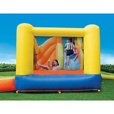 Banzai 28007 Splash Fun Kids Inflatable Bounce House Slide