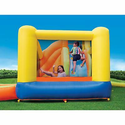 Banzai 28007 Splash Fun Kids Inflatable Bounce House Slide