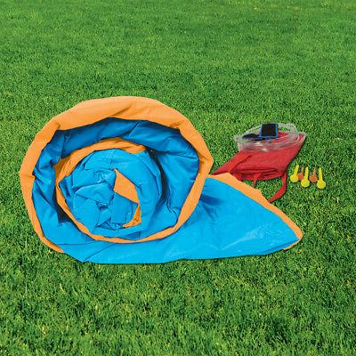 Banzai 'N Splash Fun Kids Inflatable Bounce House & Water Slide Park