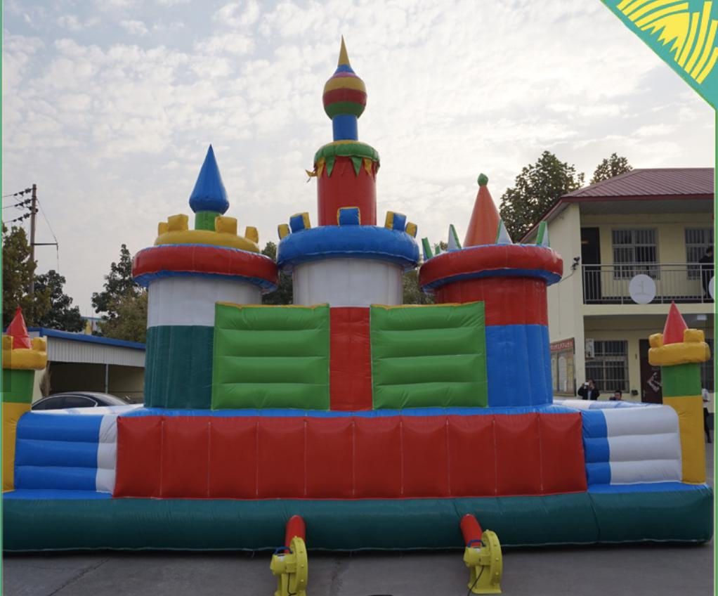 40x30x15 Commercial Inflatable Water Slide Course