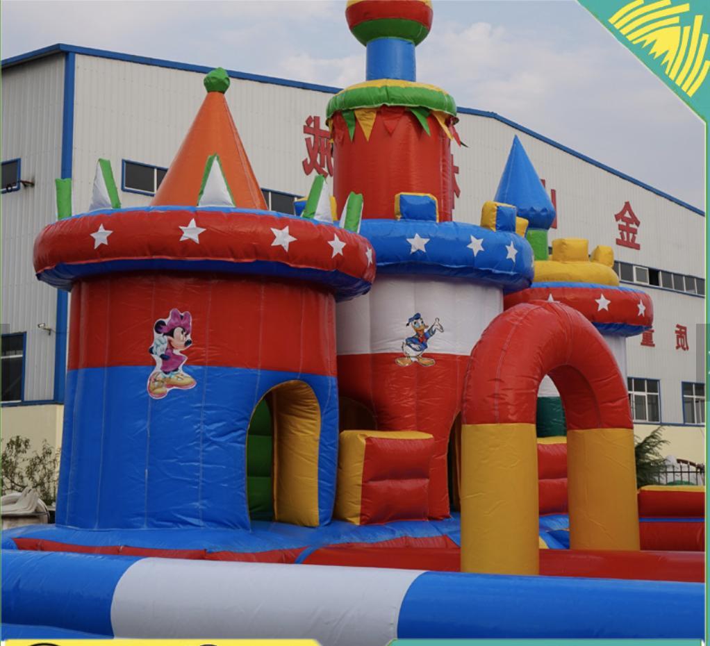 40x30x15 Commercial Slide Bounce Course