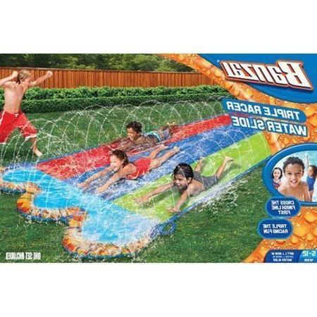 42329 triple racer water slide